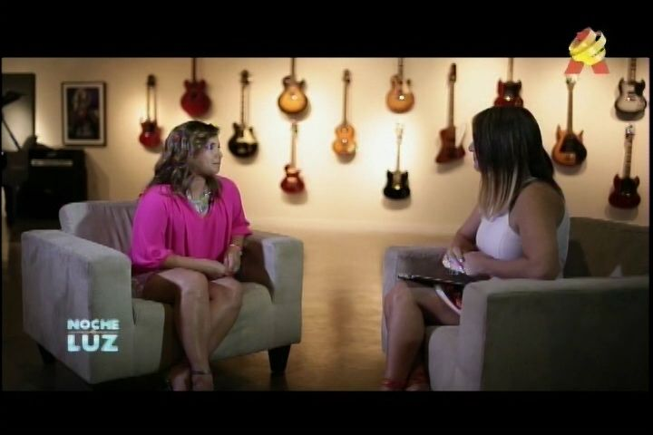 Entrevista Exclusiva A Adamari Lopez En Noche De Luz