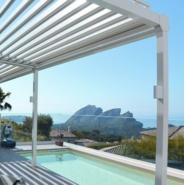 1000 ideas about pergola bioclimatique on pinterest for Toiture bioclimatique