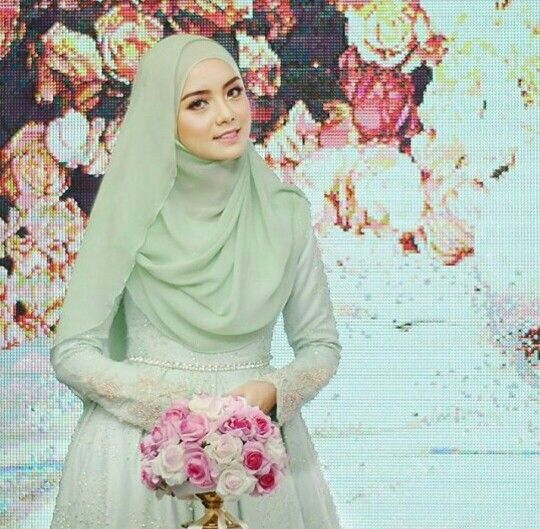 Want something green for your wedding?Love this green,don't you? Photo @cikapril_54