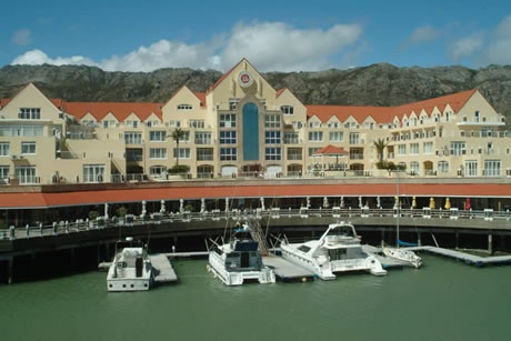 Harbour Island, Gordon's Bay. Boat mooring places along the front of the hotel complex - variety of restaurants and shops available. #harbourisland #mooring #gordonsbay