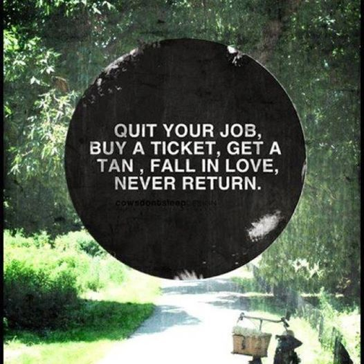 never return!