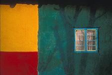 (JB-007) - Jeffrey Becom: Colores y Sombras, Cuto, Michoacean, Mexico, 1999