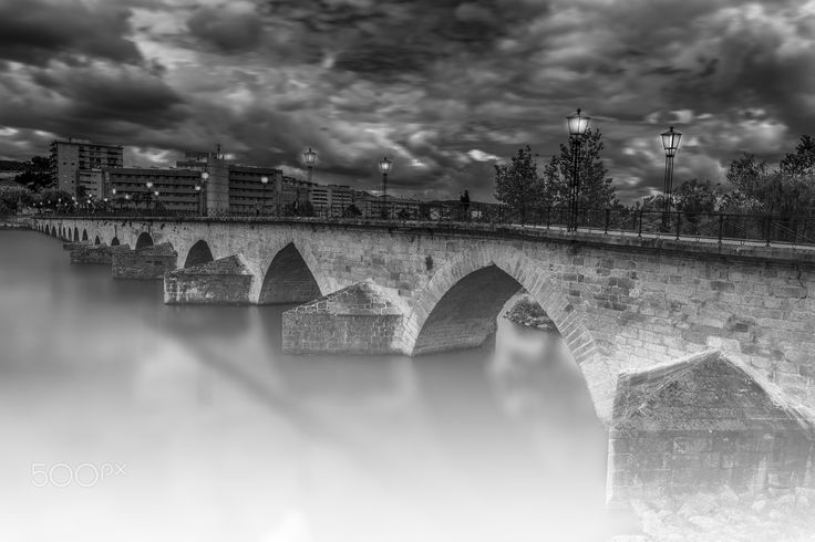 Tua River Bridge - The old bridge was for hundreds of years the only crossing over the river Tua at Mirandela city