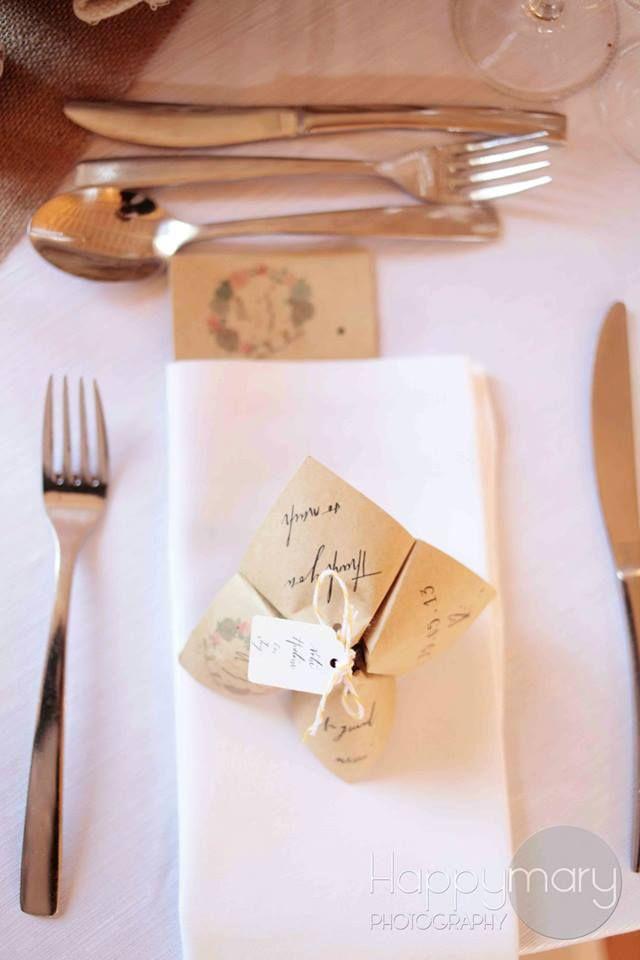 Notre mariage: la d�coration de table
