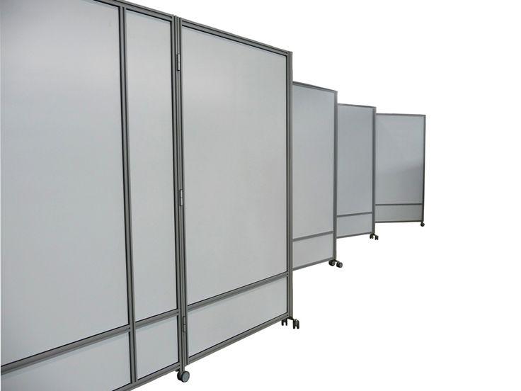 MACRO ZIG ZAG - Pannelli divisori, pareti mobili, separè su ruote, schermi flessibili, progettazione, produzione e vendita - Clipper System