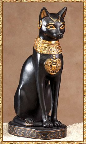 Lucky Cat- Bast, (Bastet) goddess of cats