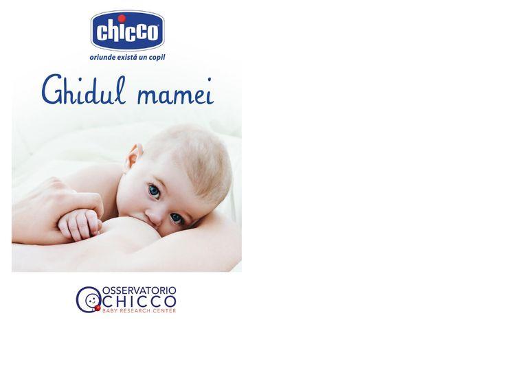 Chicco brosura: Ghidul Mamei