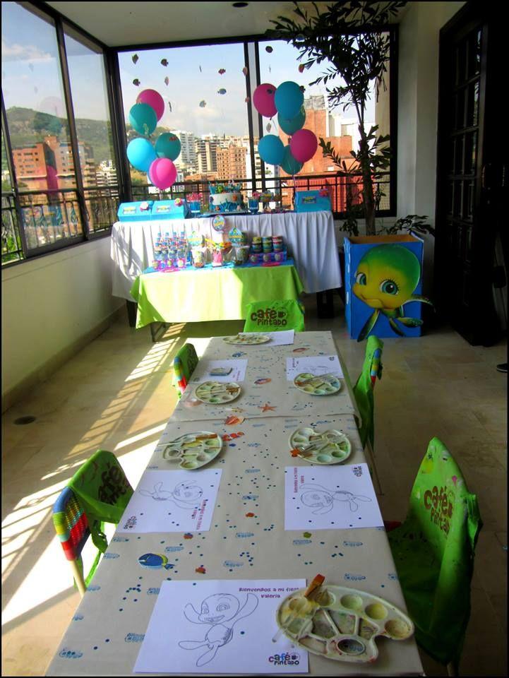 Turtle Tale Art Party