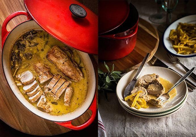receta de solomillo de cerdo en cocotte