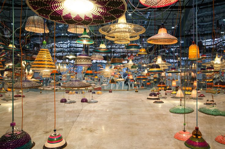 PET Lamp   Infinite Installation at Trans-Design Art&Design Shanghai 2016