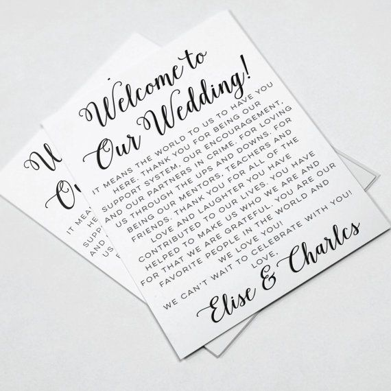 Hey, I found this really awesome Etsy listing at https://www.etsy.com/listing/235522030/wedding-welcome-letters-wedding