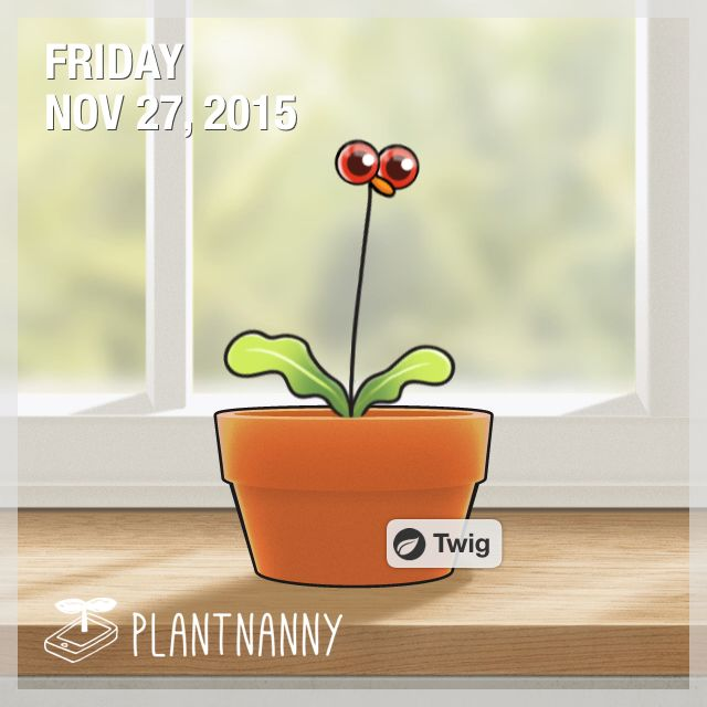 Say hello to my plant! It has absorbed 2,950 ml of water. Get yourself a plant at http://fourdesire.com/outer_link?url=http://itunes.apple.com/app/id590216134&l=en_ID&m=56580F0A