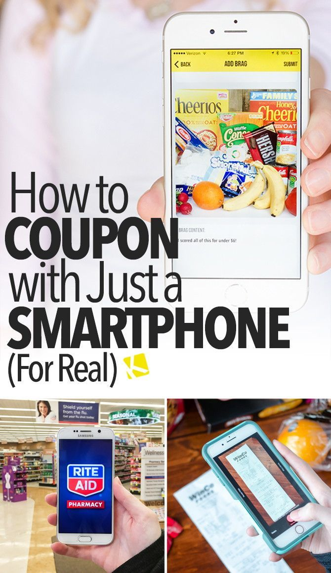 How to Coupon with Just a Smartphone (for Real)
