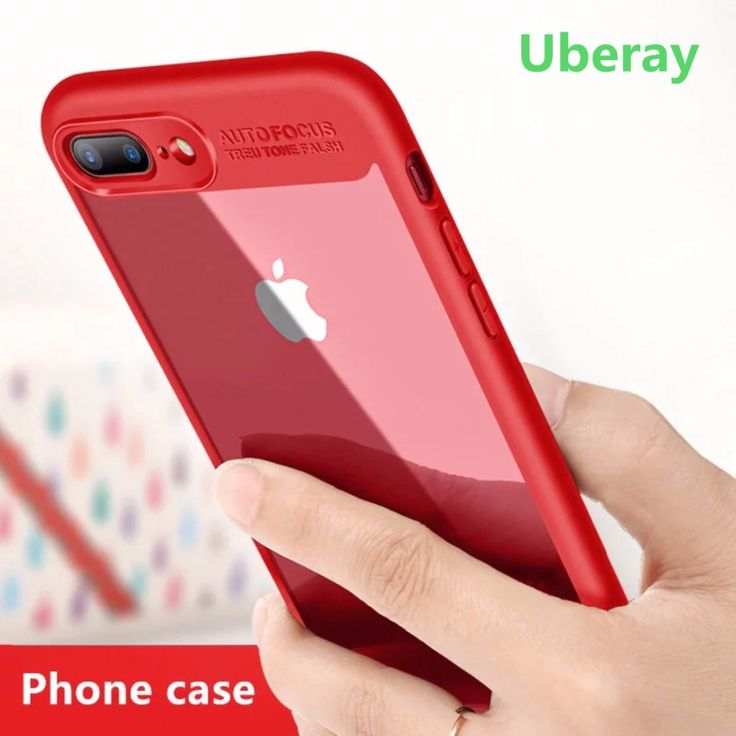 Uberay Luxury TPU+Acrylic Phone Case For iPhone 6s Cover iPhone 7 Case Newest Cell Phone Bag Capa For iPhone 6 6s 7 plus Shell
