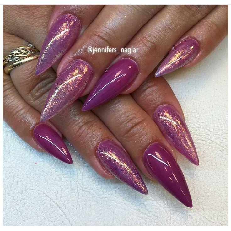 Romance Gel Polish with Mermaid Effect.  Nails made by @Jennifers_naglar . . #lillynails#nails#nailart#naglar#gelnails#gelenaglar#gelpolish#gelelack#acrylicnails#akrylnaglar#instanails#nailstagram#nailtech#nailswag#nailprodigy#nailwow#nailinspo#nailinspiration#tmblrfeature#glitter#hudabeauty#pink#rosa#sparkling#mermaideffect