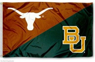 House Divided Flag - BU Bears vs. UT Longhorns