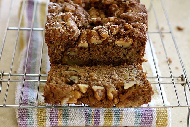 Apple Walnut Flax Seed Bread by joy the baker
