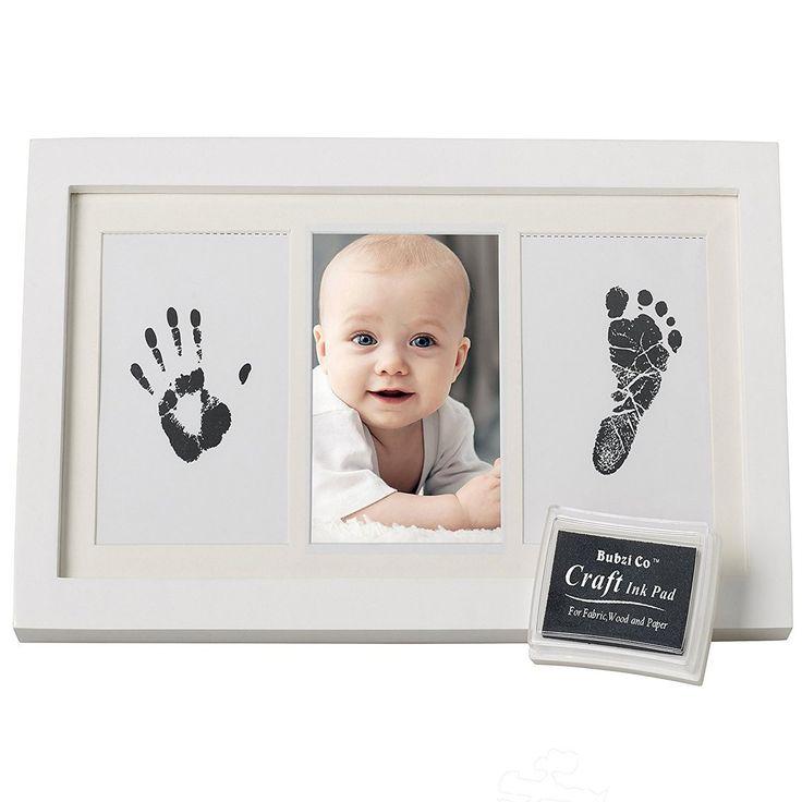 Beautiful Baby Hand & Footprint Ink Frame Keepsake Kit