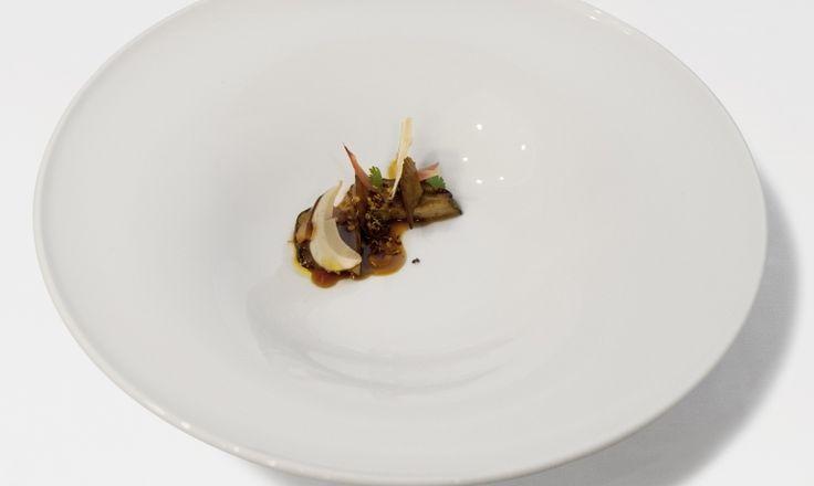 Porcini, creste di gallo e La Rossa, ricetta di Federica Andrisani per il Premio Birra Moretti Grand Cru