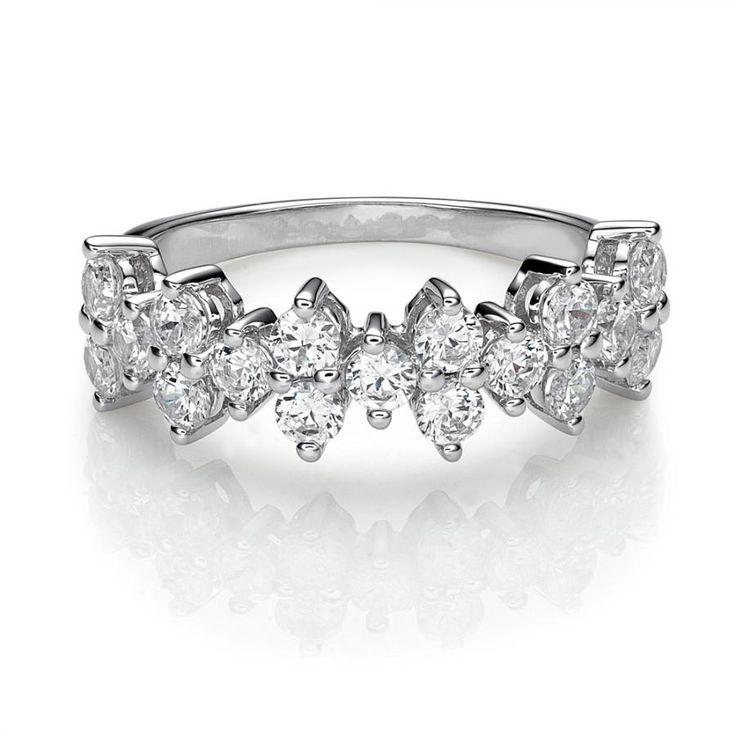 Decorative Round Brilliant Ring | Secrets Shhh