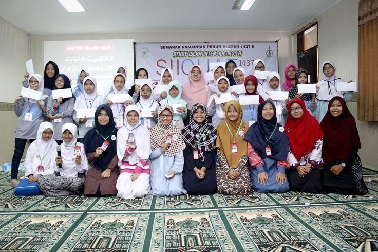 Semarak Ramadhan Penuh Hikmah - Study Islam Intensive (SII QUAT Junior) Ramadhan 1437 H