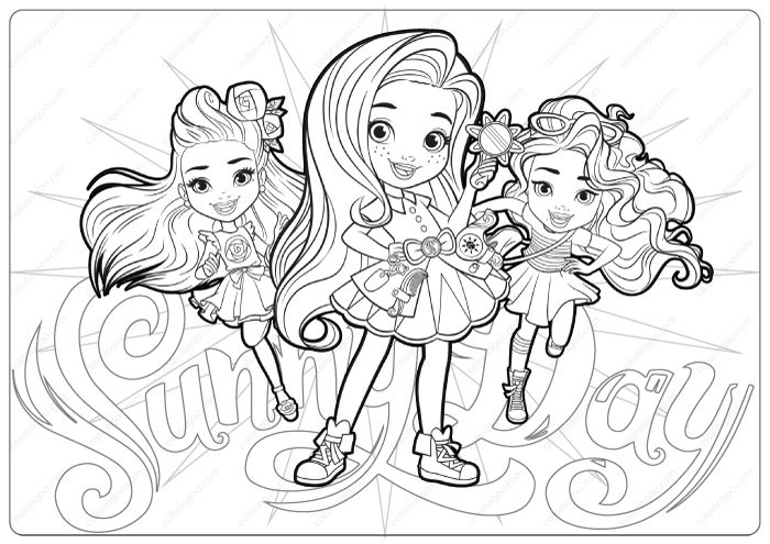 Free Printable Sunny Day Coloring Pages Coloring Pages Free Printable Coloring Pages Free Printable Coloring