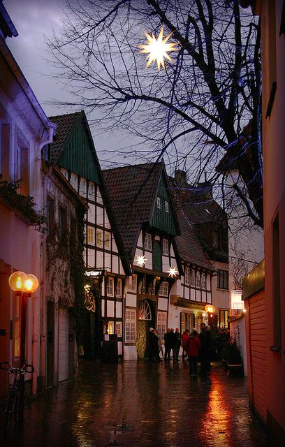 Schweinegasse Osnabrück Germany - I served in the army here 1957 before being posted to xmas island