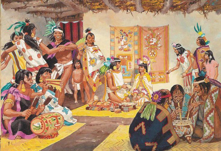Aztec marriage