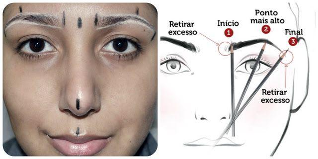 Pequena Notável: Passo a passo: Como corrigir a sobrancelha