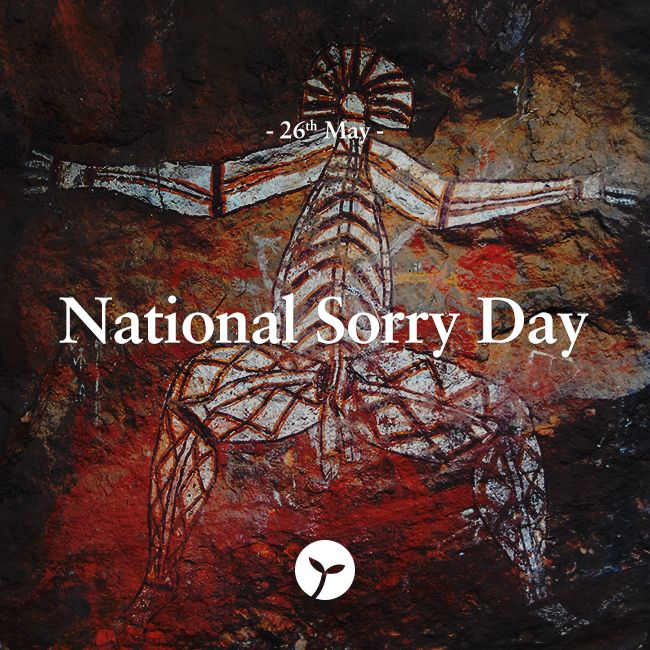 National Sorry Day is an annual event that has been held in Australia on 26 May, since 1998, to remember and commemorate the mistreatment of the continent's indigenous population. #nationalsorryday #holiday #holidays #sprout #freedomtogrow