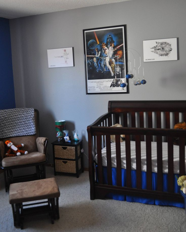 Nursery Décor For The Grown Ups: 34 Best Images About Star Wars Nursery On Pinterest