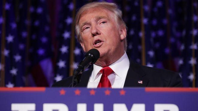 Trump: North Korea intercontinental missile 'won't happen'