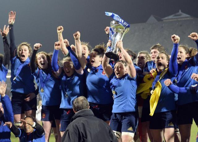Vannes: la France remporte le Six Nations en rugby féminin - Ouest-France - 20/03/2016