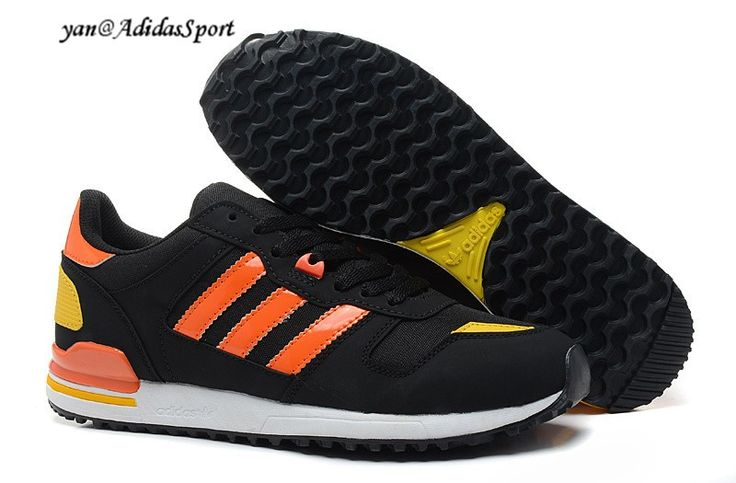 Adidas Originals ZX 700 men Retro sneakers black/Orange-red/yellow HOT SALE  � Cheap Adidas ShoesAdidas Running ...