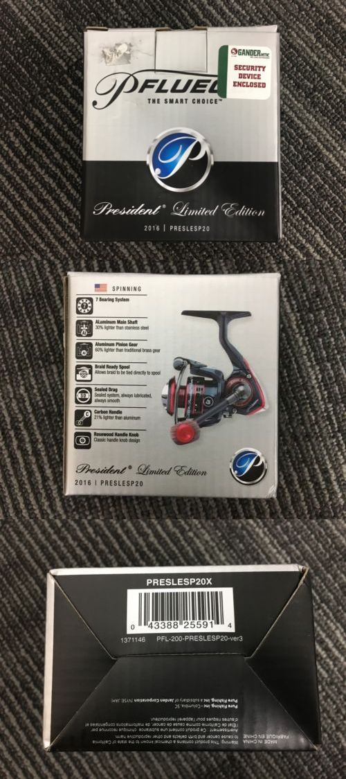 Spinning Reels 36147: Pflueger President Limited Edition 2016 Preslesp20x New!! Fishing Reel -> BUY IT NOW ONLY: $74.99 on eBay!