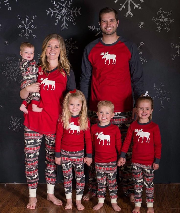 2017 New Family Christmas Moose Pajamas Hot Sale High Quality Cotton Christmas Pajamas Family Look Nightwear Clothing Sets #>=#>=#>=#>=#> Click on the pin to check out discount price, color, size, shipping, etc. Save and like it!