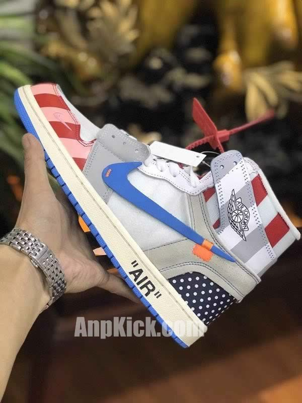 21b1c10a7990 parra off white air jordan 1 customize shoes custom made jordans (3) -  AnpKick