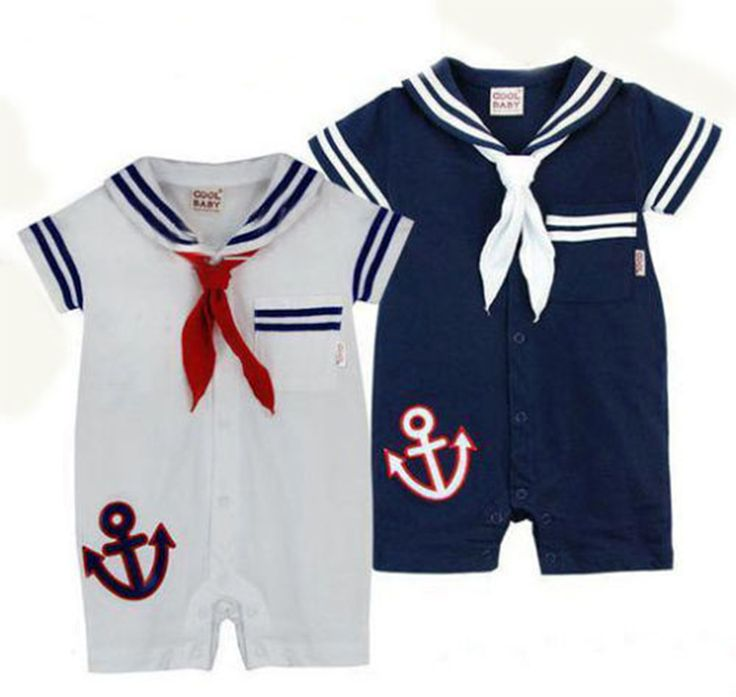 Baby Sailor Costume Romper - STYLESILOVE