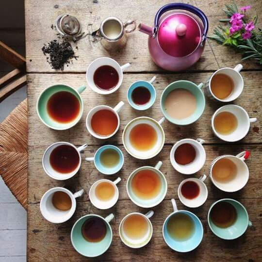 Shades of tea