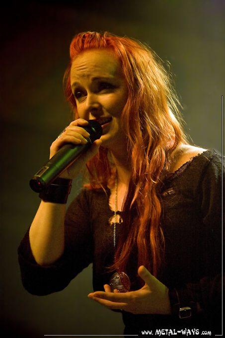 Amberian Dawn @ Rockstore (Heidi Parviainen)