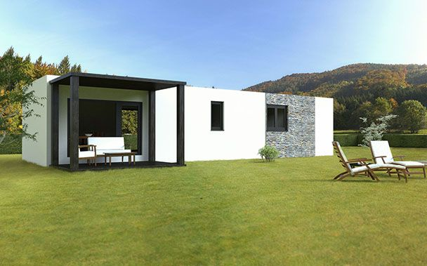 M s de 1000 ideas sobre casa prefabricadas precios en - Precio casas de madera prefabricadas ...