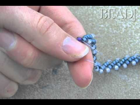 Video: Learn basic St. Petersburg Chain from B&B.  ~ Seed Bead Tutorials