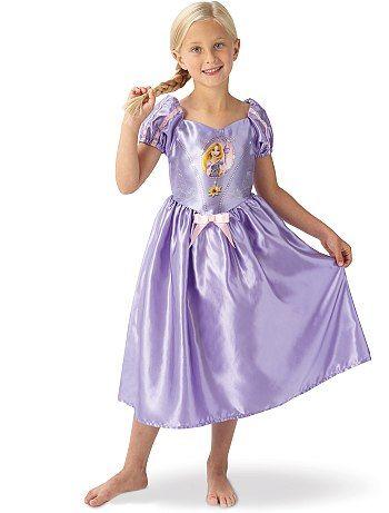 Déguisement de princesse 'Raiponce'                             violet Enfant   - Kiabi