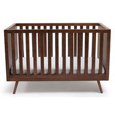 Nifty Timber Convertible Crib with Mattress