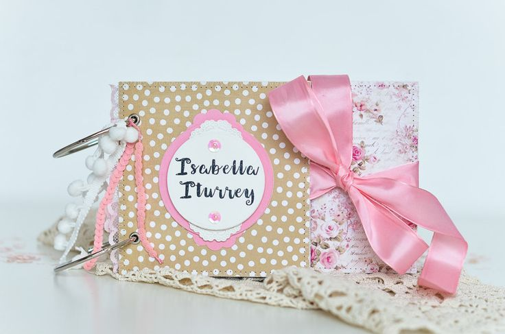 Baby Book, Baby Girl Memory Book, Custom Baby Keepsake Book, Baby Journal with Pink Taffeta Ribbon, Baby's Firsts Book, Baby Shower Gift, by VioletCloudlet on Etsy https://www.etsy.com/listing/221170963/baby-book-baby-girl-memory-book-custom
