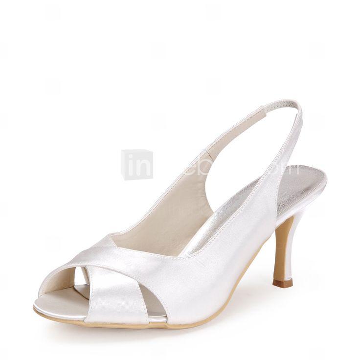 Zapatos de boda - Sandalias - Tacones - Boda - Negro / Azul / Rosa / Morado / Rojo / Marfil / Blanco / Plata / Gris / Champán - Mujer 2015 – $34.99