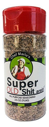 Chef Marla's Super Shit arein - All Purpose Seasoning (Old Shit) ** Click image for more details.-It is an affiliate link to Amazon.