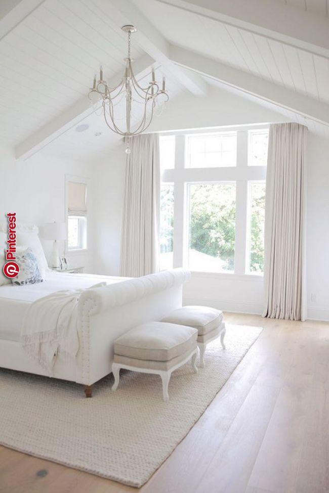39 Elegante Weisse Und Klare Master Schlafzimmer Ideen Wohnen