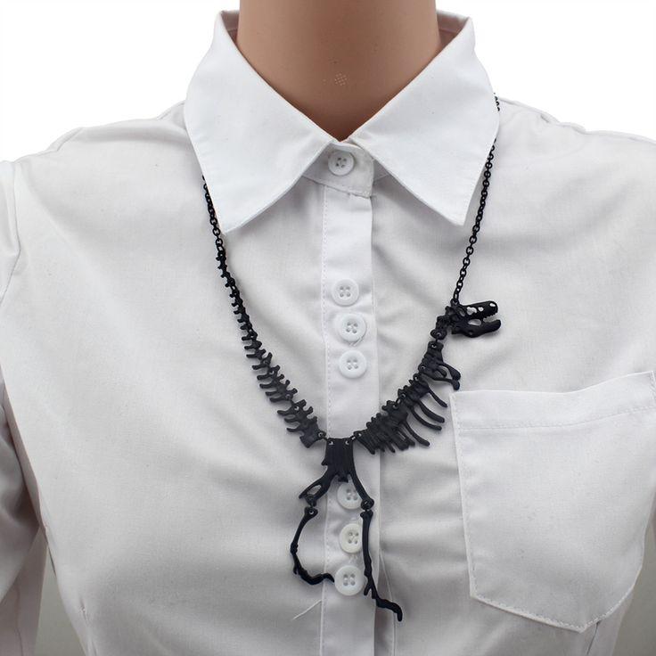 133,82 руб 2016 женщины мода горячая распродажа ювелирные изделия связаны окаменелость динозавра скелет ожерелье подарочные девушки леди EB87 бесплатная доставка 2015 купить на AliExpress