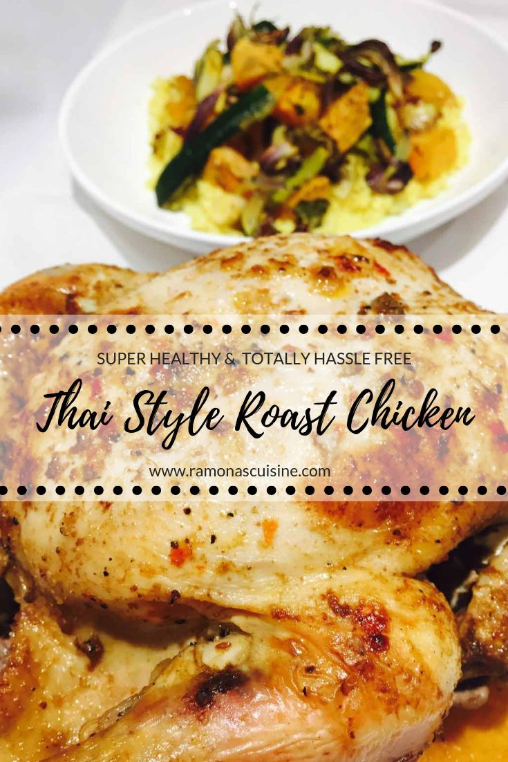 Thai Style Roast Chicken Recipe Thai Roasted Chicken Recipe